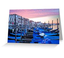 Sunrise in Venice I Greeting Card