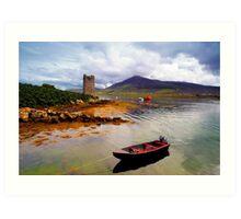 Granuaile's Tower Achill Art Print