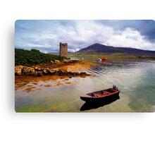 Granuaile's Tower Achill Canvas Print