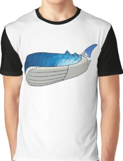 Wailord - Pokémon Art Graphic T-Shirt