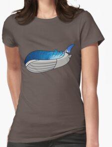 Wailord - Pokémon Art Womens Fitted T-Shirt