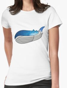 Wailord - Pokémon Art Womens Fitted T-Shirt