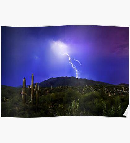 Saguaro Strike Poster