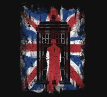 UK flag 10th doctor