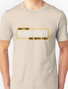 May The Newtonian Force Be With You Unisex T-Shirt