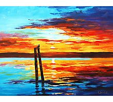 Swansea Sunset Photographic Print
