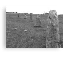 Hurlers Stone Circle Canvas Print