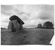 Trethevy Quoit Poster