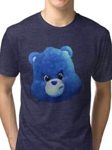Bear with a Grumpy Head Tri-blend T-Shirt