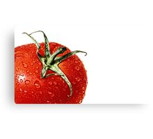 Elections or a fresh tomato salad... Canvas Print