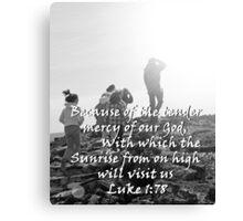 """Luke 1:78"" by Carter L. Shepard Canvas Print"