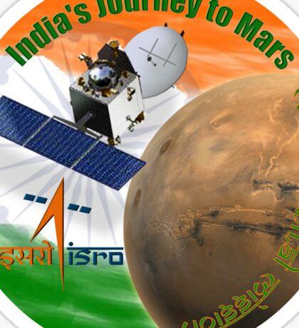 ISRO - Mars Orbital Mission Program Logo Sticker