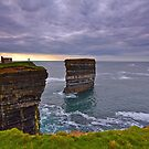 Downpatrick Head Co Mayo by Michael Walsh