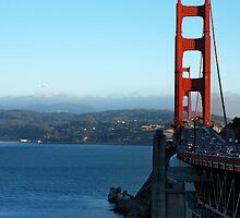 Golden Gate Bridge - San Francisco by mattiaterrando