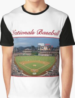 Nationals Baseball Graphic T-Shirt
