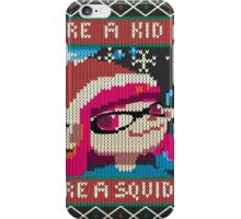 Knitted Ugly Sweater Splatoon Girl from Splatoon iPhone Case/Skin