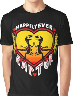 Happily Ever Raptor Graphic T-Shirt