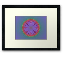 Wire Flower Framed Print