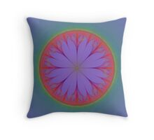 Wire Flower Throw Pillow