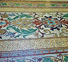 Mosaic Floor in the Block Arcade, Melbourne Australia by SpikeyRose