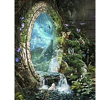 The Swift of Spring Portal Photographic Print