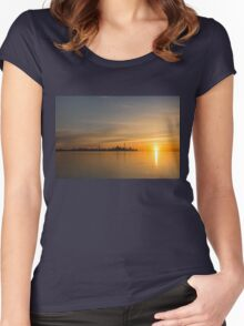 TO Sunrise - Bright, Bold and Beautiful  Women's Fitted Scoop T-Shirt