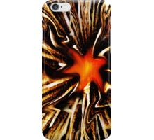 Fiery Starfish iPhone Case/Skin
