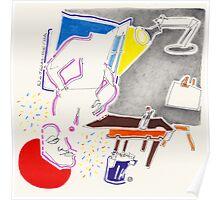 Night Drawings - Les Dessins de Nuit n°35  -  Dreams' Studio Poster