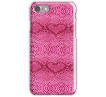 Pink Snakeskin iPhone Case/Skin