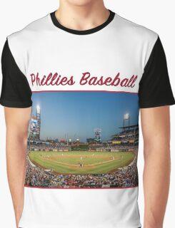 Phillies Baseball Graphic T-Shirt