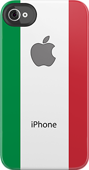 Italian flag + Apple logo by mattiaterrando