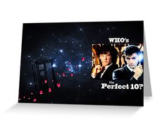Sherlock & The Doctor  Greeting Card