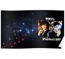 Sherlock & The Doctor  Poster