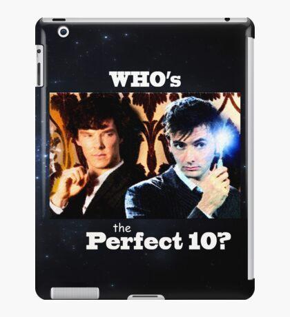Sherlock & The Doctor  iPad Case/Skin