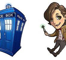 11th Doctor sticker set by oriana132