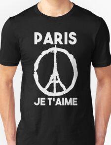 Paris Je t'aime - I LOVE YOU Unisex T-Shirt
