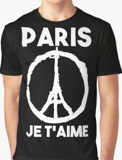 Paris Je t'aime - I LOVE YOU Graphic T-Shirt