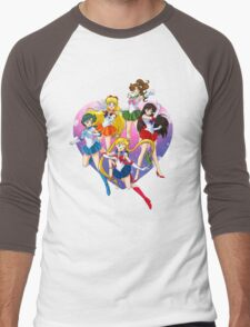 Bishoujo Senshi Men's Baseball ¾ T-Shirt