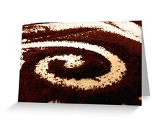 Coffee  artwork  directly from artist handmade Greeting Card