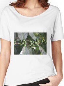 Green Coffee Beans Women's Relaxed Fit T-Shirt