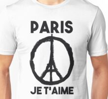 Paris Je t'aime - I LOVE YOU Unisex T-Shirt