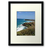 Get To The Point Framed Print