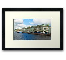 Winter Palace of the Tsars - A Summer Perspective Framed Print