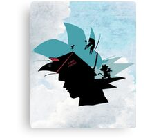 Kame hame ha! Canvas Print