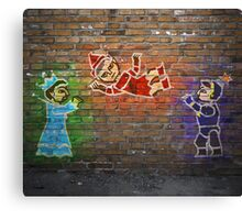 Give Us Your Lunch Rupees Canvas Print