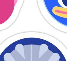 Kirby Friends Sticker