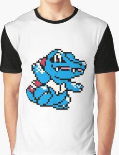 Pokemon - Totodile Sprite Graphic T-Shirt