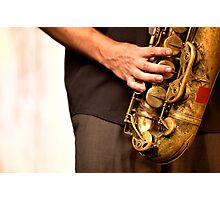 Sax Photographic Print