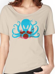 Octo Drummer Women's Relaxed Fit T-Shirt