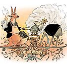 Australia's climate policy coat of arms by David Pope